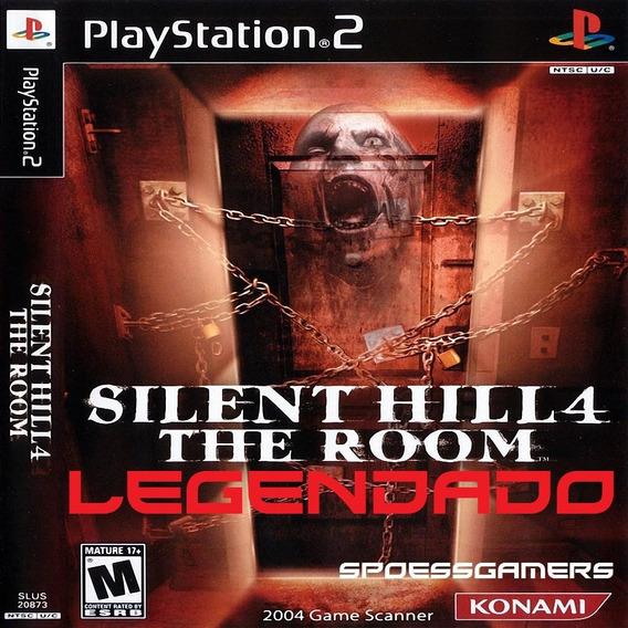 Silent Hill 4 The Room Legendado Br Ps2 Desbloqueado Patch