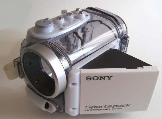 Caixa Estanque Sony Sport Pack Spk-hcd Filmagem Subaquática