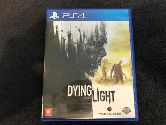 Dying Light Ps4 Mídia Física Com Manual