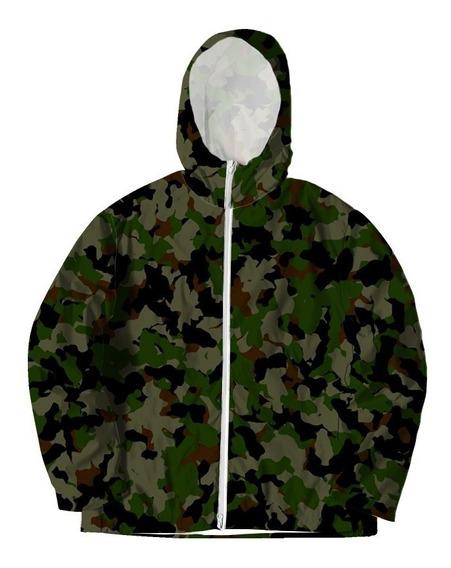 Jaqueta Corta Vento Camuflada Camo Militar Swag Tumblr #2