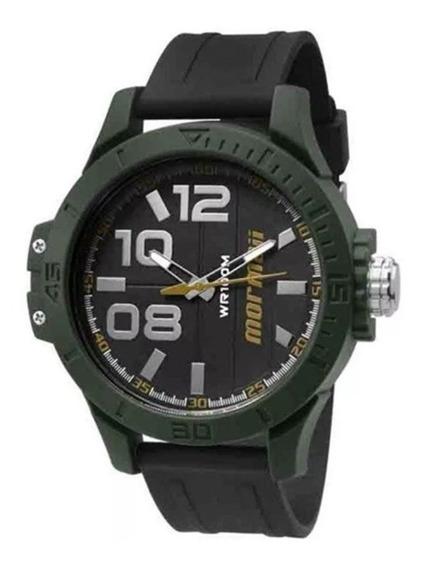 Relógio Masculino Mormaii Pulseira De Borracha Mo2035id/8y