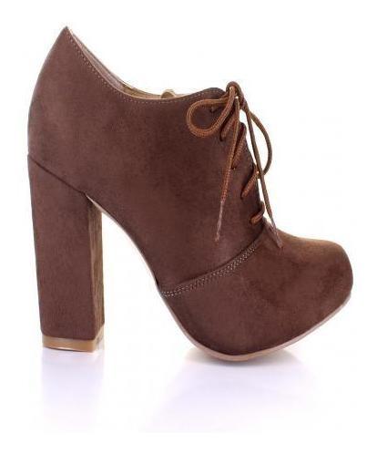 Zapato Para Mujer Emilio Bazan 301 Color Madera