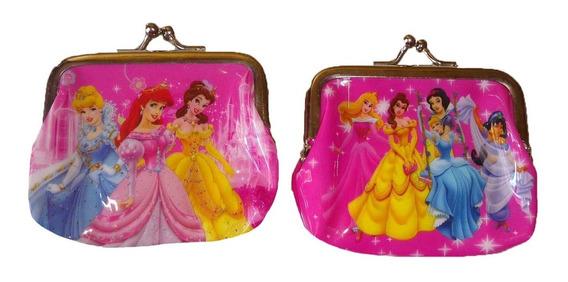 Monedero Bolita Princesas 2 Diseños Diferentes