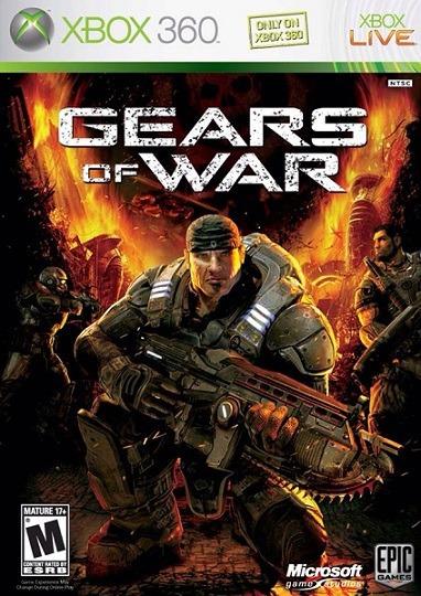 Jogo Gears Of War Xbox360 Ntsc Midia Fisica Original