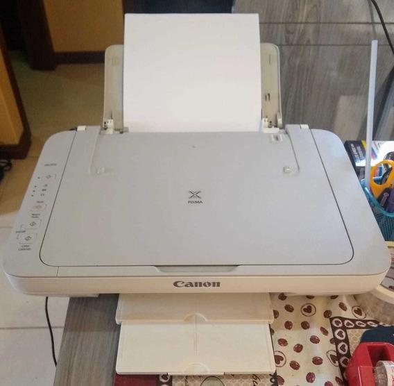 Impressora Canon Mg2410 Usada Em Excelente Estado