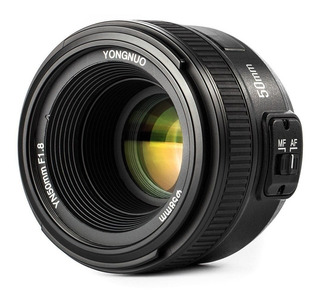 Lente Yongnuo 50mm F1.8 Para Nikon Garantia 1 Año