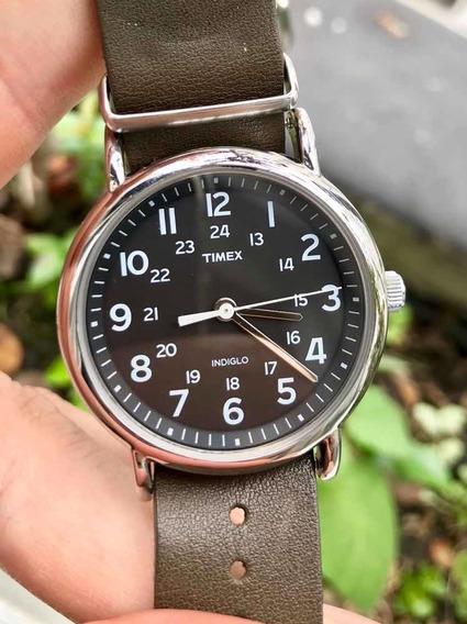 Relógio Timex Indiglo 32mm C/ 3 Pulseiras