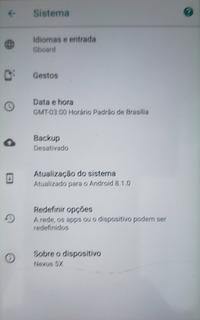 Celular Nexus 5x - 32gb