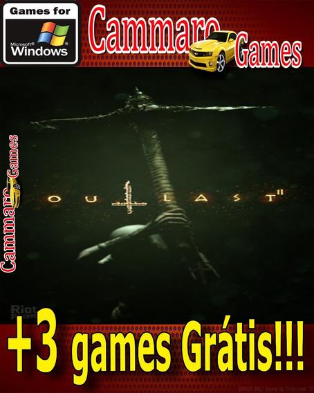 Outlast 2 Em Português + 3 Games Grátis