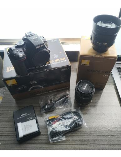 Nikon D5200 / 35mm 1.8g / 18-55mm 3.5-5.6g