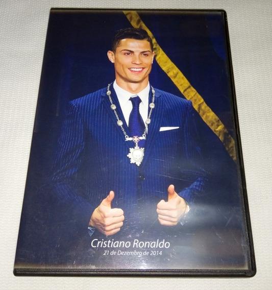 Dvd Cristiano Ronaldo Cr7 Medalha De Mérito Madeira 2014