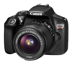 Dslr Canon Eos Rebel T6 18mp + Lente Ef-s 18-55mm I I