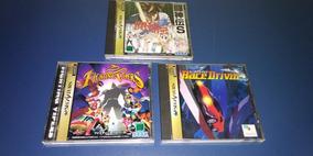 Sega Saturn - Lote De Jogos Japoneses