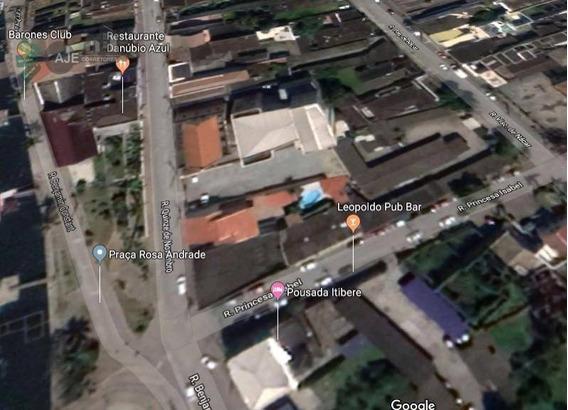 Terreno À Venda, 843 M² Por R$ 1.100.000,00 - Centro Histórico - Paranaguá/pr - Te0031