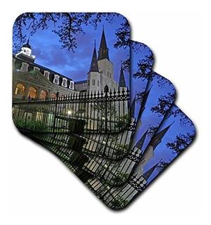 3drose Cst_90469_3 Catedral De San Luis, Nueva Orleans, Loui