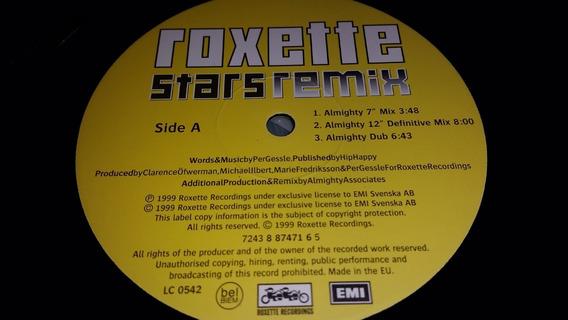 Roxette Stars (remix) Vinilo Maxi Germany Muy Bueno 1999