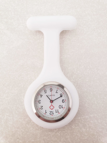 Reloj Enfermera Silicon Blanco