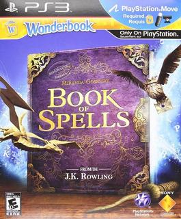 Wonderbook Book Of Spells Nuevo Ps3 Requiere Move Dakmor