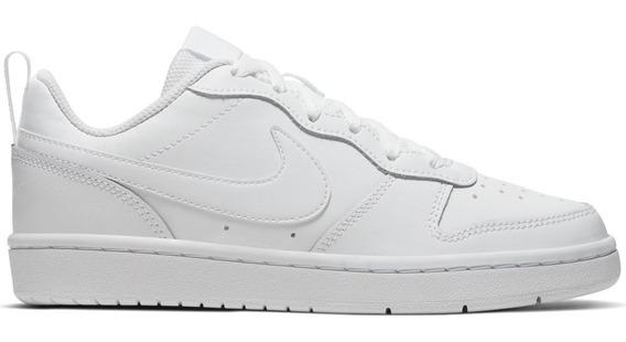 Zapatillas Nike Court Borough Low 2 (gs) Niños Bq5448-100