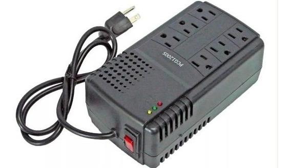 Regulador De Voltaje 6 Tomas 1200s Para Pc ($9)laschimeneas