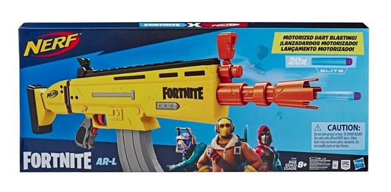 Metralladora Nerf Fortnite Hasbro E7061 Lanzador 20 Dardos