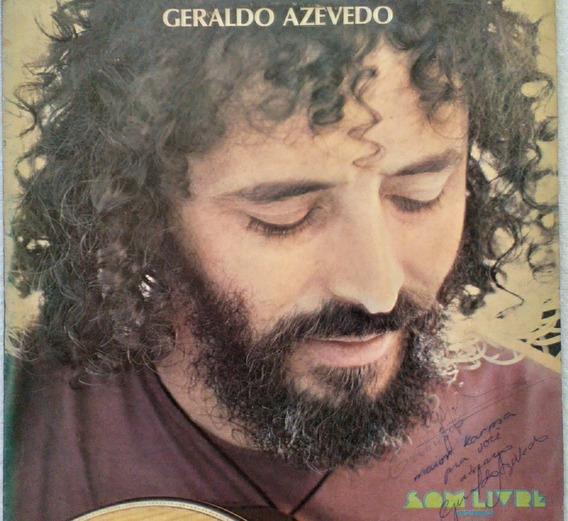 Lp Geraldo Azevedo -(1977) 1ª Edição Autografado E Encarte