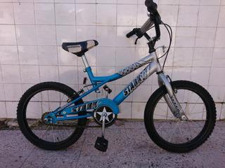 Bicicleta Bmx Team Stark... Casi Sin Uso.