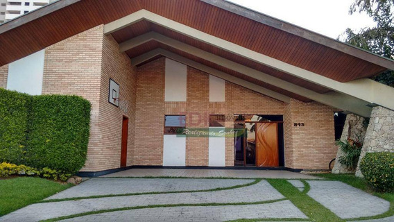 Casa Com 4 Dormitórios À Venda, 523 M² Por R$ 1.950.000 - Jardim Das Nações - Taubaté/sp - Ca0096