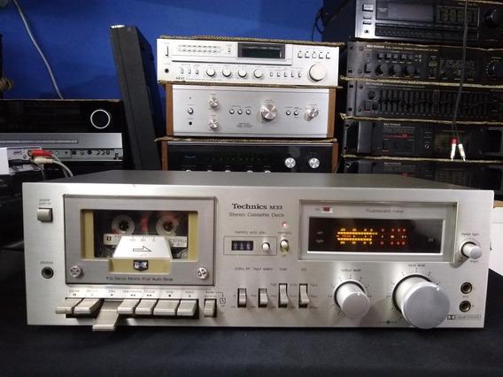 Tape Deck Technics Rs M33 Ñ Pioneer Marantz Sansui Jvc Akai