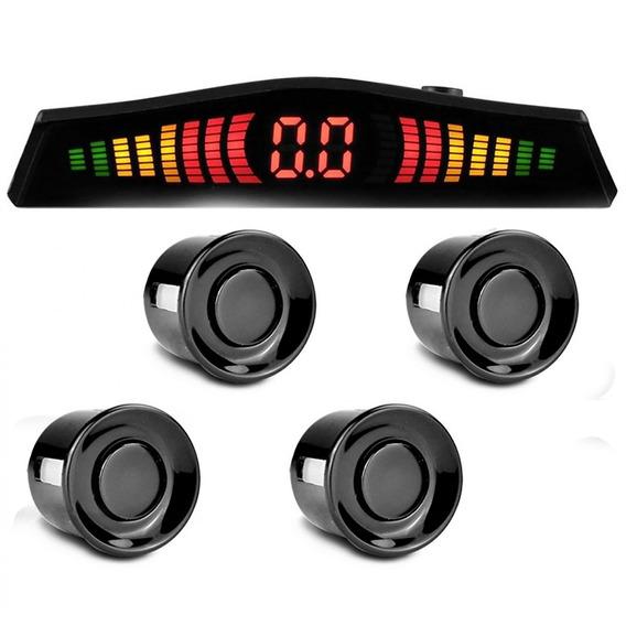 Sensor De Estacionamento 4 Pontos Com Display Led Colorido