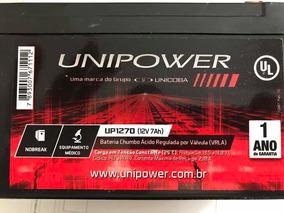 Bateria 12v / 7ah Para Cerca Eletrica, Alarme E Nobrek
