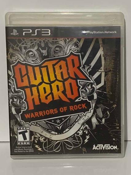 Guittar Hero Warriors Of Rock Ps3 - Promoção Jogo Original
