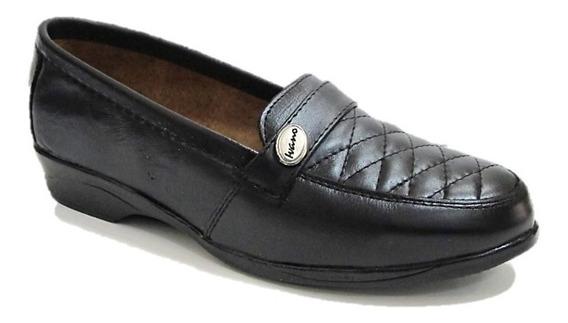 Zapatos De Descanso Mujer Florenza Piel Cómodos 3003