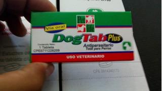 Desparasitante Dog Tab Para Mascotas. Precio Por 5 Unidades