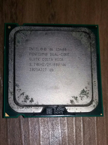 Processador Intel Pentium E5400 (dual Core 2.7ghz)