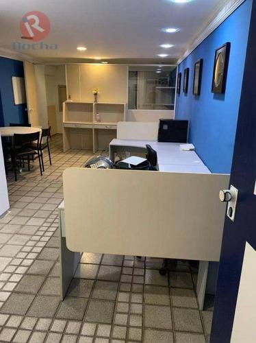 Sala Para Alugar, 40 M² Por R$ 1.200,00/mês - Boa Viagem - Recife/pe - Sa0955