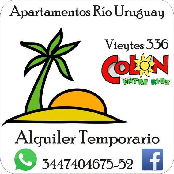 Alojamiento Temporario Buen Precio/calidad Colon, Entre Ríos