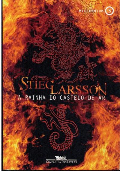Livro A Rainha Do Castelo De Ar - Millennnium 3 - 685 Pagina