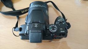 Câmera Semi-profissional Nikon P510 Usada Pouco Utilizada