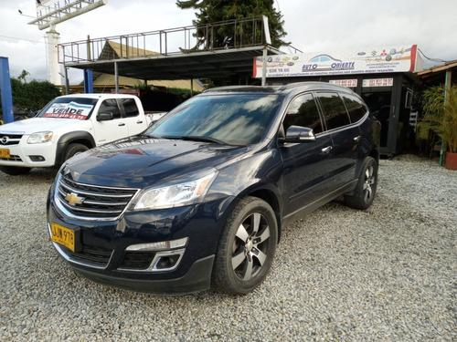 Chevrolet Traverse 2017 At/tp Adw Techo Cuero Refull