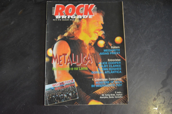 Rock Brigade 94 Metallica Revista