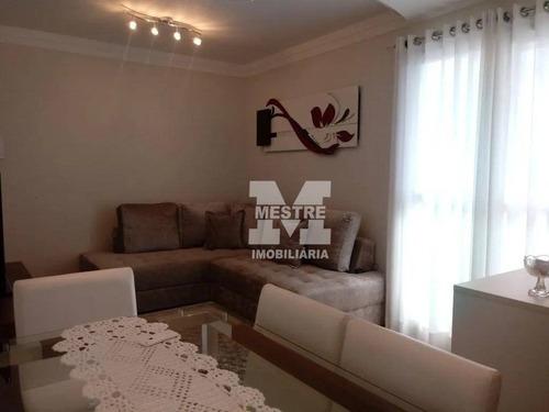 Apartamento Com 2 Dormitórios À Venda, 57 M² Por R$ 403.000,02 - Vila Rosália - Guarulhos/sp - Ap2433