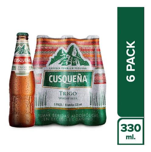 Imagem 1 de 1 de Cerveja Cusquena De Trigo Pack 6x330ml
