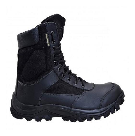 Coturno Impermeável Airstep Conforto Black 8625-1