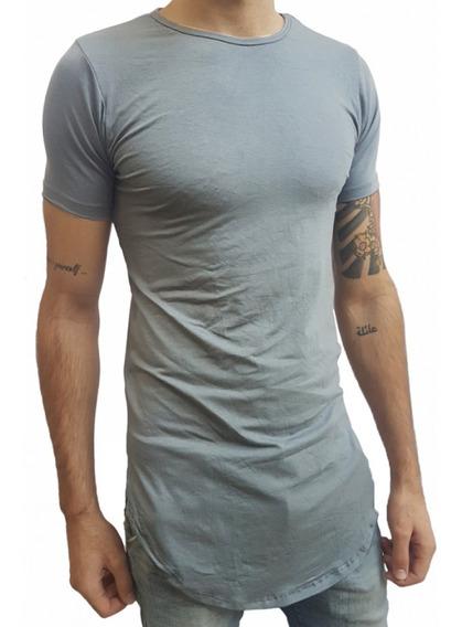 Camisa Long Line Oversized Swag Masculina