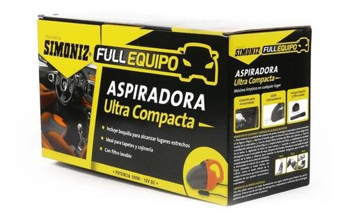 Aspiradora Para Auto Simoniz Ultra Compacta