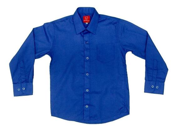 Camisa Manga Larga Oscar Collection 1 2 3 3x Moño Tirantes R