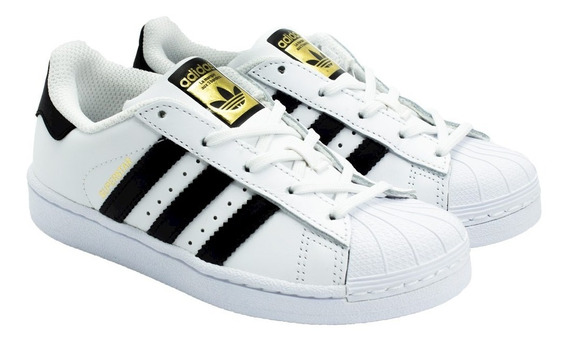 Tênis Infantil adidas Superstar Foundation (26 Ao 32)