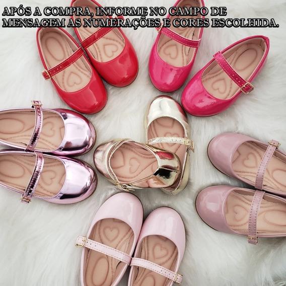 6 Sapatilhas Infantil Lisas
