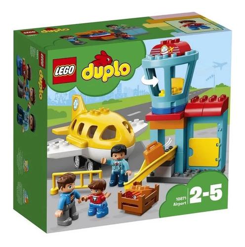Imagem 1 de 2 de Lego Duplo Aeroporto - 10871
